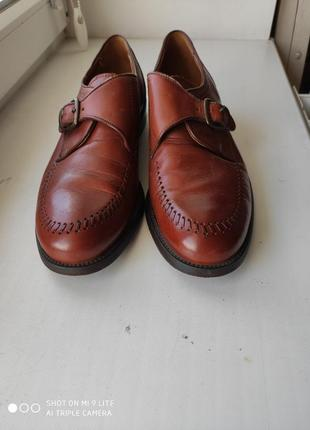 Туфли-монки(броги, оксфорды).
