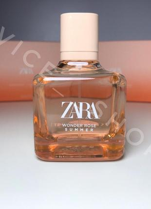 Zara wonder rose summer духи парфюмерия туалетная вода оригинал испания 🇪🇸