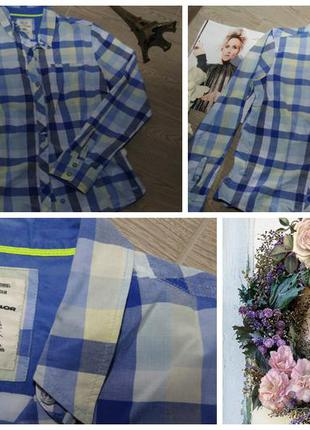 Рубашка в клетку tom tailor