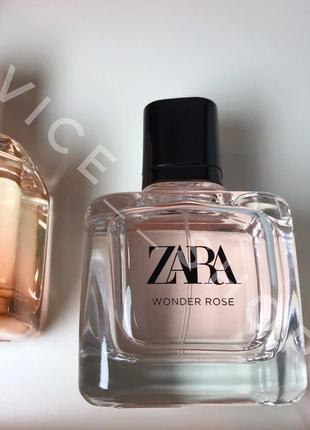 Zara wonder rose духи парфюмерия туалетная вода оригинал испания 🇪🇸