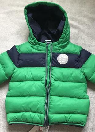Красивая и яркая демисезонная куртка для малыша f&f