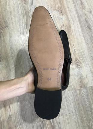 Мужские классические кожаные туфли pierre cardin монки оксфорды8 фото
