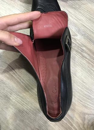 Мужские классические кожаные туфли pierre cardin монки оксфорды9 фото