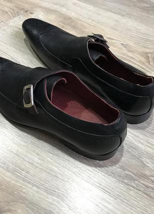 Мужские классические кожаные туфли pierre cardin монки оксфорды2 фото