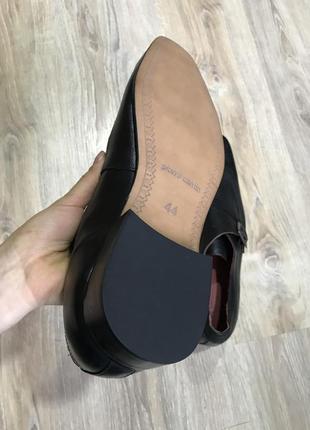Мужские классические кожаные туфли pierre cardin монки оксфорды10 фото