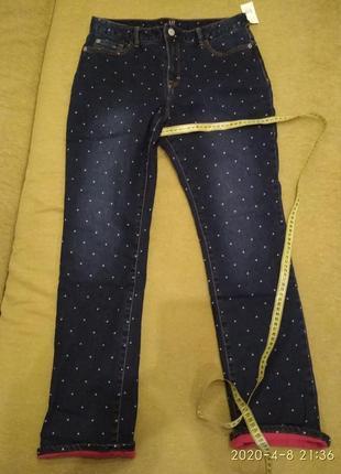 Новые джинсы gap на трикотажной подкладке на осень!