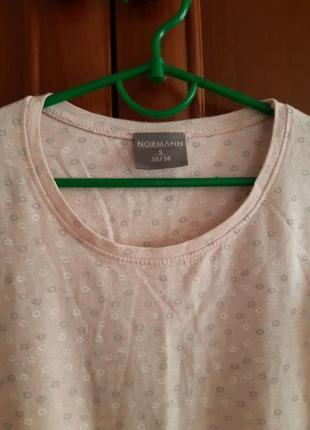 Платье для дома сна , футболка женская. с длинным рукавом