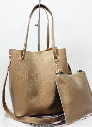 Женская сумка экокожа комплект (арт.л2615)