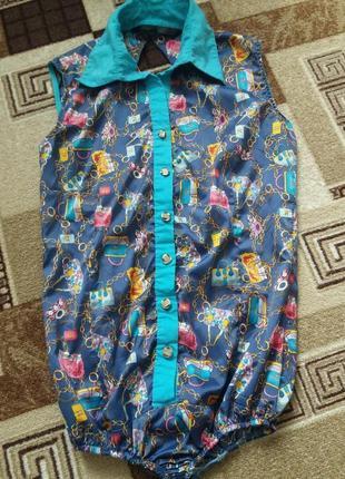 Боди блуза комбидрес