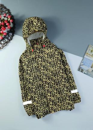Куртка, дождевик на 5-6 лет/110-116 см