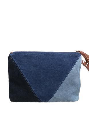 Клатч francesca синий