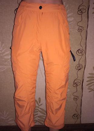 Оранжевые бриджи ande размер xs