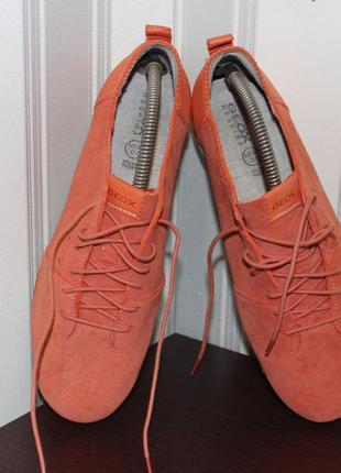 Роскошные женские спортивные туфли geox new-do, р.41. стелька 27 см