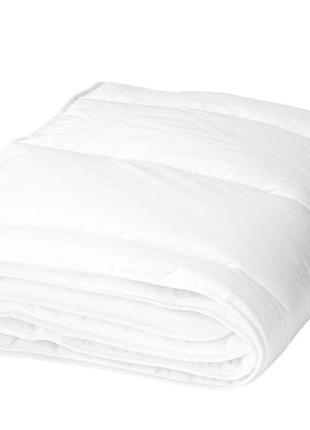 Икеа лен, 600.285.10 одеяло в детскую кроватку, белый, 110x125 см и подушка