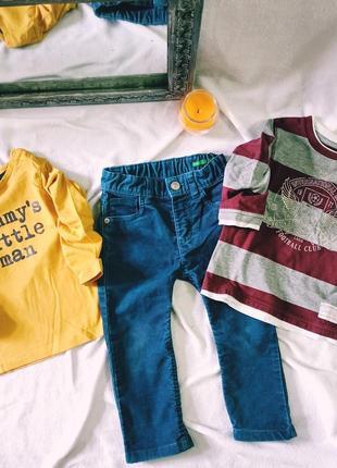 Комплект набор пакет одежды на мальчика вещи джинсы