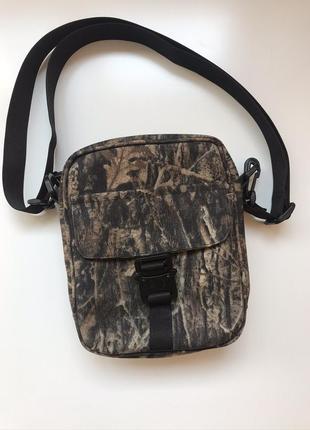 Мужская сумка через плечо. 100 % кордура. новая