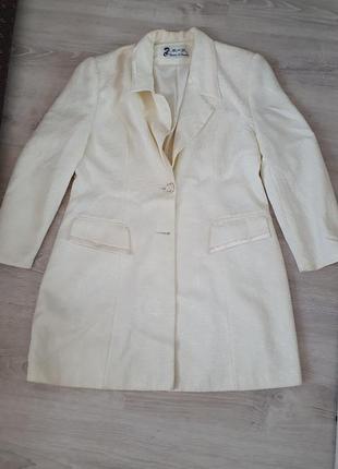 Праздничный длинный пиджак