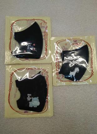 Защитная многоразовая маска pitta pa3 фото