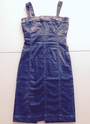 Платье сарафан джинсовое miss sixty оригинал италия новая коллекция будьте стильными!