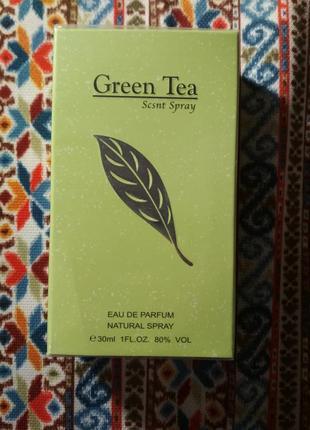 Парфюмированная вода elizabeth arden - green tea