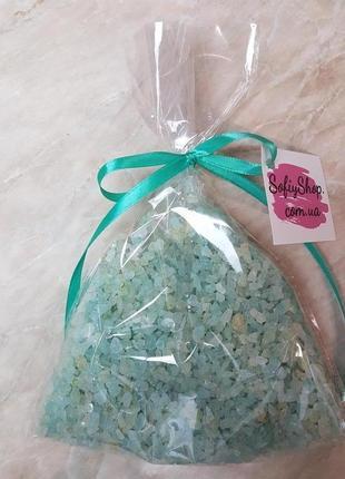 Натуральная морская соль с эфирным маслом лаванды 250 гр.