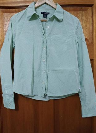 Фирменная рубашка abercrombie & fitch s