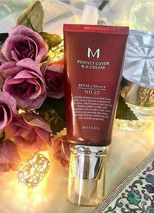 Бб-крем missha m perfect cover bb cream spf42 21 23
