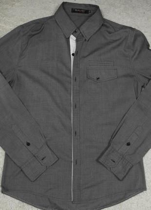 Отличная dablju by jiniy рубашка мужская xl длинный рукав slim fit