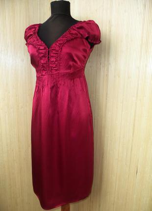 Платье  из натурального шелка culture s-m