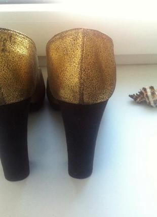 Туфли colin stuart с медным напылением