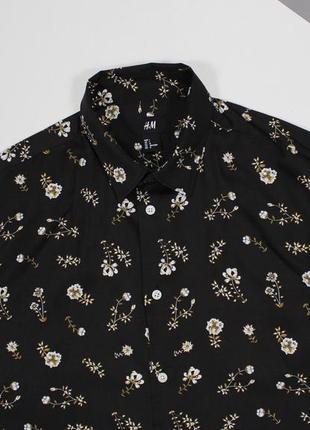 Красивейшая рубашка с цветочным принтом от h&m