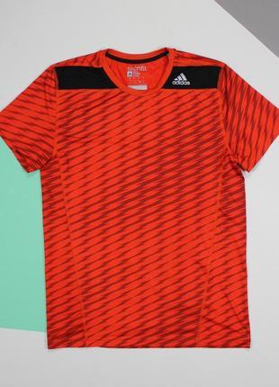 Оригинальная футболка для занятий спортом от adidas tech fit