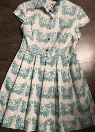 Летнее платье «бабочка»
