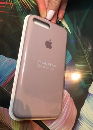 Нюдовый чехол на айфон, iphone 7/8 plus +