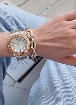 Шикарный комплект часы с браслетом