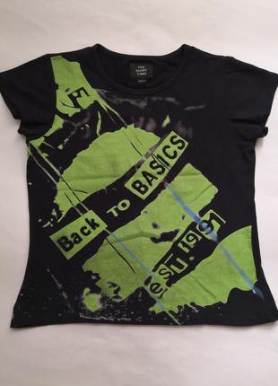 Стильная футболка tee shirt time
