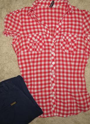 Рубашка h & m ,р.36/xs/s