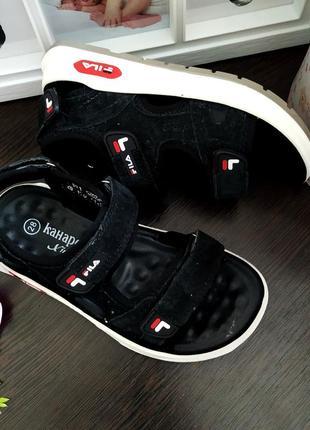 Модные удобные натуральные замшевые сандалии босоножки