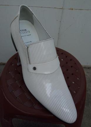 Классические лаковые туфли турция