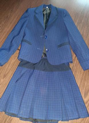 Школьная форма, юбка, пиджак, сарафан
