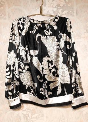 Блуза шелковая женская новая