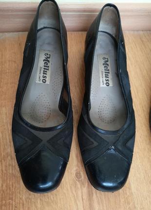Лодочки туфли с сеткой