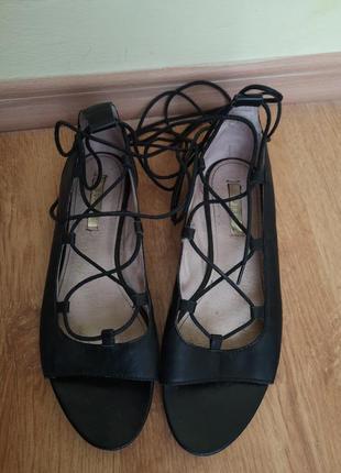 Туфли лодочки на шнуровке esprit