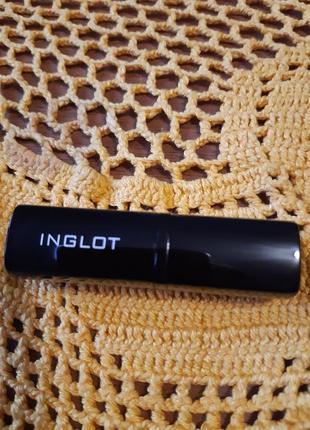 Губная помада с шимером inglot скидка 50% satin lipstick