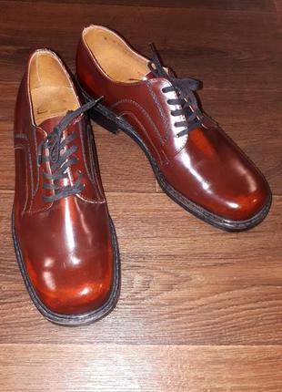 Туфли натуральная кожа румыния
