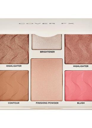 Палетка cover fx perfector face palette
