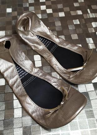 Балетки-чешки для танцев rollasole