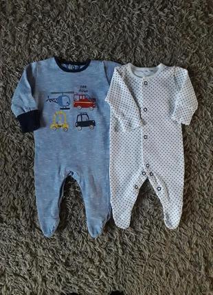 Комплект человечков на новорожденного