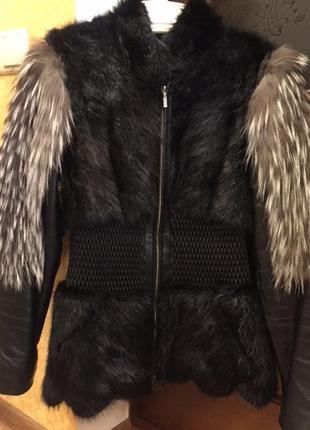 Куртка норка и чернобурка