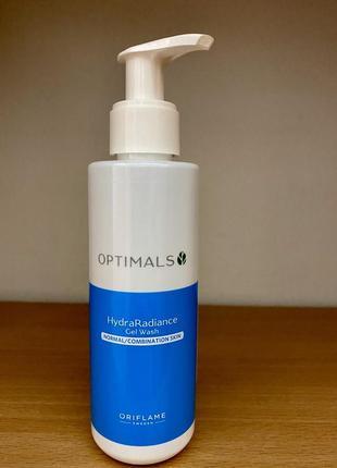 Гель для умывания для нормальной и комбинированной кожи optimals
